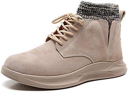 メンズ ワークブーツ マーティンブーツ 秋冬 ショートブーツ ビジネス ミドルカット カジュアル アウトドア 防滑 防水 大きいサイズ コンフォート 吸汗 編み上げブーツ 紳士靴 メンズブーツ おしゃれ かっこいい