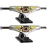 Independent Wes Kremer Stage 11-139mm Hollow All Day Standard Polished/Black Skateboard Trucks - 5.39'' Hanger 8.0'' Axle (Set of 2)