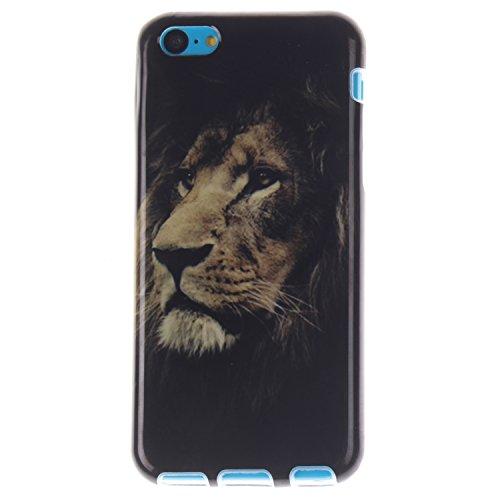 MOONCASE iPhone 5C Case Mode Muster TPU Silikon Tasche Schutzhülle Etui Hülle Schale Case Cover für iPhone 5C -TX08