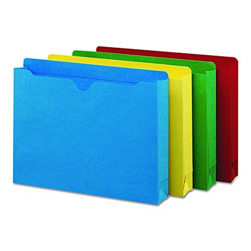 Tab File Jacket (Smead File Jacket, Reinforced Straight-Cut Tab, 2
