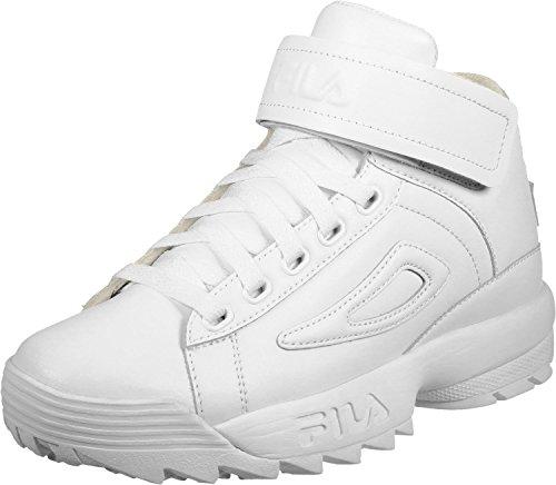 Fila White 10101551FG 2 Basket Mid Wmn D rqI10r