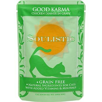 Soulistic Good Karma Chicken Dinner in Gravy Cat Food Pouche