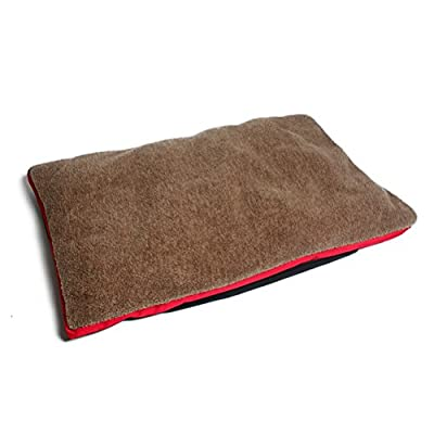 SUNLIGHTAM Large Pet Dog Cushion Bed Mat Pad Soft Fleece Blanket from SUNLIGHTAM