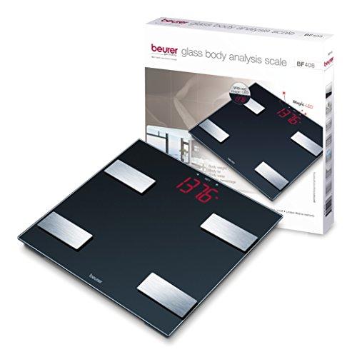 Beurer Glass Large LCD Measuring Body Bone