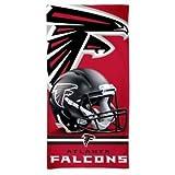 "McArthur Atlanta Falcons 30"" x 60"" Fiber Beach Towel Revolution Helmet New 2018 Design"