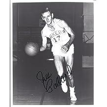 Jim Pollard Autographed Lakers 8x10 Photo ~ Hall of Famer - PSA/DNA Certified - Autographed NBA Photos