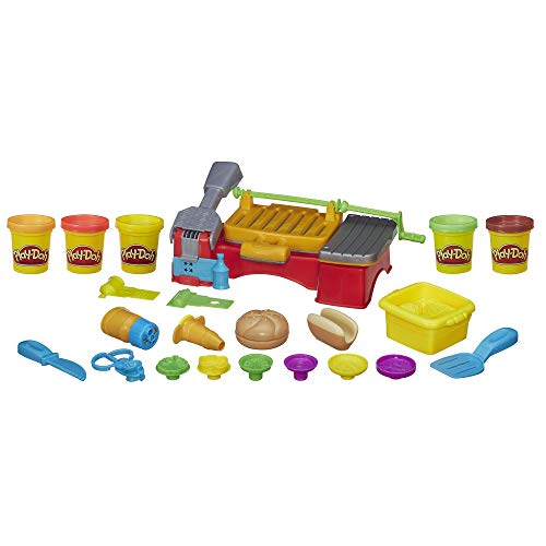Play-Doh Kitchen Creations Cookout Creations Play Food Barbecue Toy with 5 Non-Toxic Colors, 2 Oz Cans, Brown (Amazon -