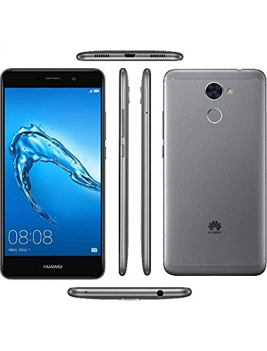 Huawei Y7 Prime (TRT-L53) 3GB / 32GB 5.5-inches Dual SIM Factory Unlocked - International Version - No Warranty (Grey)