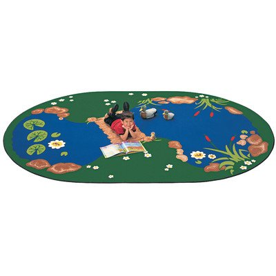 - Carpets for Kids The Pond Rug, 4'5