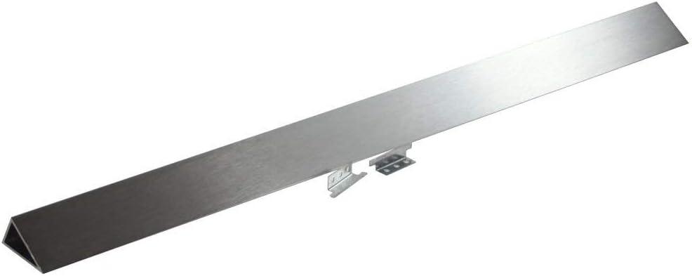 Whirlpool W10113901A Slide-In Range Rear Filler Kit, Stainless Steel
