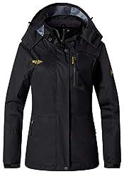 Wantdo Women's Spring Jacket Windproof R...