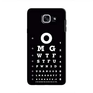 Cover It Up Eye Tests Hard Case For Samsung Galaxy J7 Prime