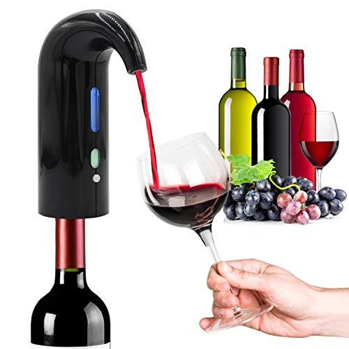 Rechargeable Decanter Electrical Dispenser Oxidizes