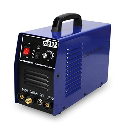 SUNGOLDPOWER New 3 IN 1 Plasma Cutter CT312 Multi-Function DC Inverter TIG MMA ARC Welding Machine Welder 110V 220V Dual Voltage