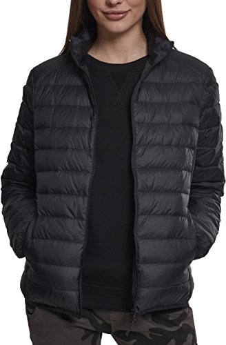 Urban Classics Ladies Basic Jacket, Blouson Femme Noir (Black 00007)