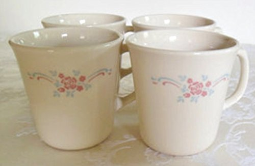 Corning Corelle English Breakfast Mugs - Set of 4