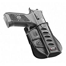 Fobus Tactical CZ Duty BHP Standard Right Hand Conceal Carry Polymer 5cm Police Wide Belt Holster For CZ 75 P-07 Duty P09