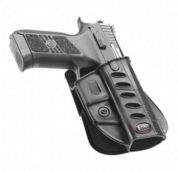 Fobus Tactical CZ Duty BH Standard Right Hand Conceal Carry Polymer Belt Holster For CZ 75 P-07 Duty - Fobus Duty Belt