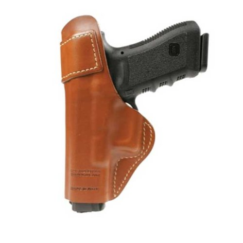 BLACKHAWK! Inside-the-Pants Brown Holster with Clip, Size 01, Right Hand - Fits Colt 1911 Govt 5 (Pant Inside Holster Blackhawk)