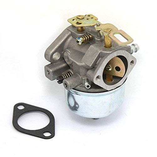 Replacement Carburetor for Tecumseh 632334A 632111 Snowblower 7hp 8hp HM70 HM80 Toro Ariens MTD Sears w/Gasket by Qp-SUNROAD