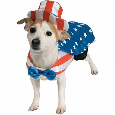 Rubie's Uncle Sam Pet Costume, X-Large by Rubie's