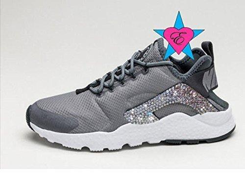 Crystal Glitter Nike Air Huarache Run Ultra