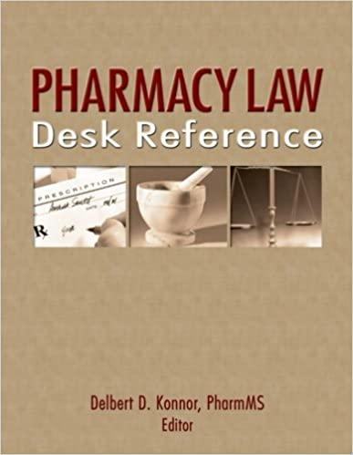 Book Pharmacy Law Desk Reference by Albert I Wertheimer (2006-12-01)