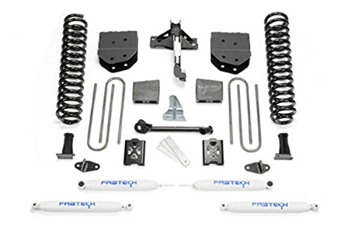 Fabtech K20101 Basic Lift System w/Shocks w/Performance Shocks 6 in. Lift w/Factory Overload Basic Lift System w/Shocks