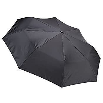 Lewis N. Clark Compact & Lightweight Travel Umbrella Opens & Closes Automatically, Black, One Size 3