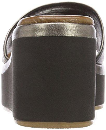 16778552 Femme 8681 black Noir Inuovo pewter Tongs qH8YxAZ