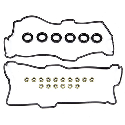 ECCPP For Toyota 3.4L Tacoma 4Runner Tundra 5VZFE Valve Cover Gasket w/Grommet+Seals