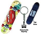 Disney Cars McQueen Skateboard Keyring
