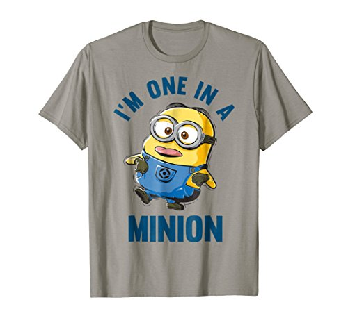 Despicable Me Minions Dave One In A Minion Graphic T-Shirt -