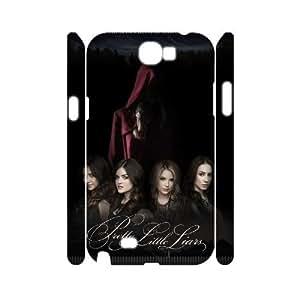Custom Pretty Little Liars 3D Phone Case, Custom Hard Back Cover Case for Samsung Galaxy Note 2 N7100 Pretty Little Liars
