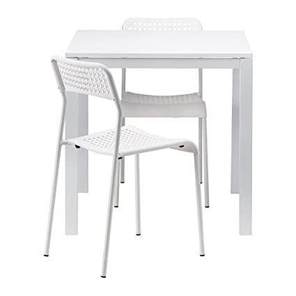 5c9228ebd Image Unavailable. Image not available for. Color  IKEA Table and 2 Chairs  ...