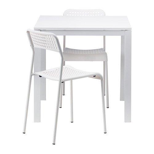 Amazing Amazon Com Ikea Table And 2 Chairs White 29 1 2 Ibusinesslaw Wood Chair Design Ideas Ibusinesslaworg