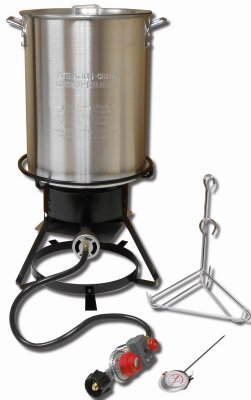King Kooker 1229 Propane Outdoor Cooker 12'' With 29-qt Aluminum Pot & Basket