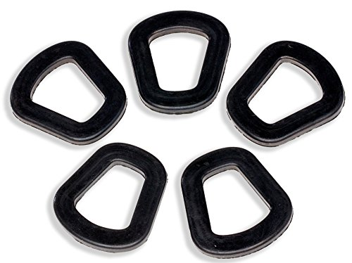 Jerry Can Gaskets (Pack of 5) - Replacement Gaskets for 20L NATO Jerry Can Spout