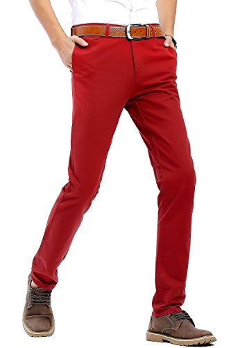 red mens pants - 2