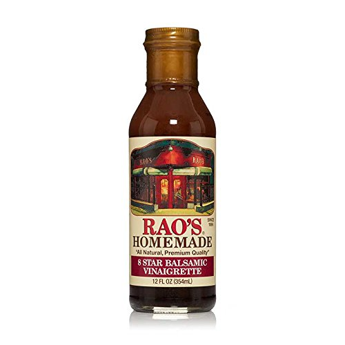 Rao's Specialty Foods, 8 Star Balsamic Vinaigrette, 6 Pack, Premium Quality Salad Dressing or Marinade of Pure Olive Oil and Balsamic Vinegar, Add a Classic Italian Flavor to Your (Balsamic Pasta Salad)