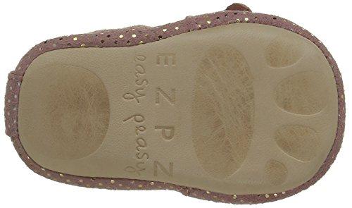 Easy Peasy Blumoo Noeud - Zapatillas de casa Bebé-Niños Rosa - Pink (011 Pailettes Rosy)