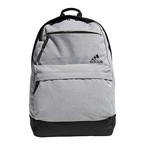 adidas Unisex Daybreak II Backpack, Grey Heather/Black, ONE SIZE