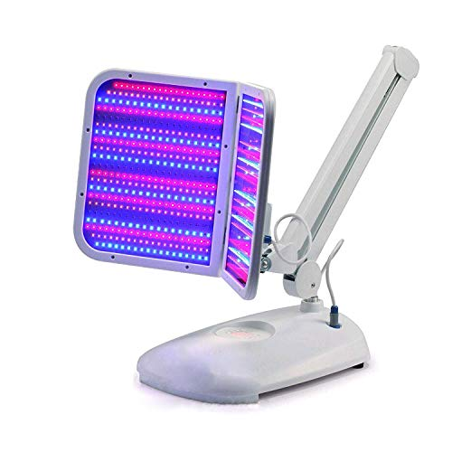 Amazing2015 Desk LED Light machine 3 colors Red Blue Yellow with Infrared Light 880nm skin care treatment device de4