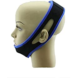 Presadee Women's Lightweight Snore Stopper Sleep Velcro Adjustable Jaw Strap, 2 Ounce