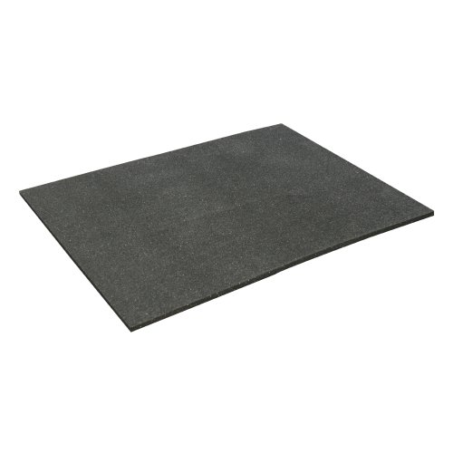 Rubber-Cal ''Shark Tooth'' Heavy-Duty Matting - 3/4-inch Thick Rubber Mats - Black - Made in the USA - 3/4 inch thick x 4ft x 6ft by Rubber-Cal (Image #4)