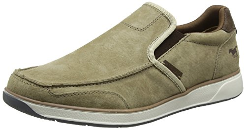 Homme Taupe 318 401 Marron Mocassins Mustang 4124 wpOCqvp1