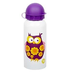 Blafre Diseño Botella Acero Inoxidable 350ml búho lila