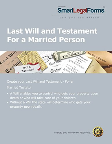 Will for a Married Person [Instant Access] by SmartLegalForms, Inc.