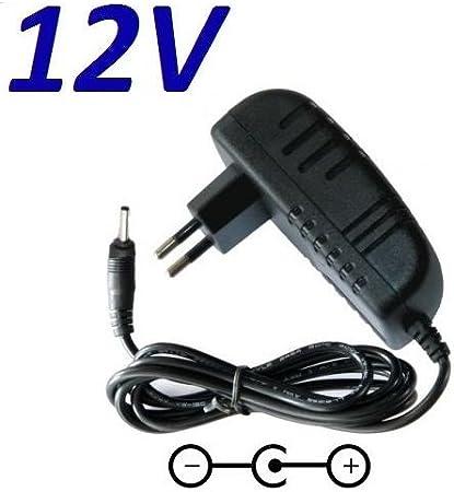 CARGADOR ESP ® Cargador Corriente 12V Reemplazo Medion Akoya E4251 MD 61227 MD61227 MSN 30025555 Recambio Replacement
