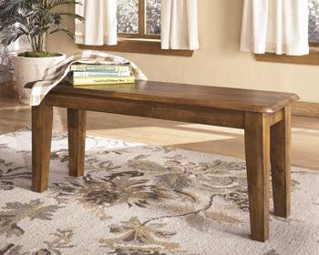 Signature Design By Ashley D199 00 Dining Chair Bench Rustic Finish